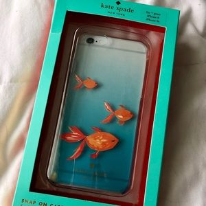 Kate Spade iPhone 6 Clear Fish Case